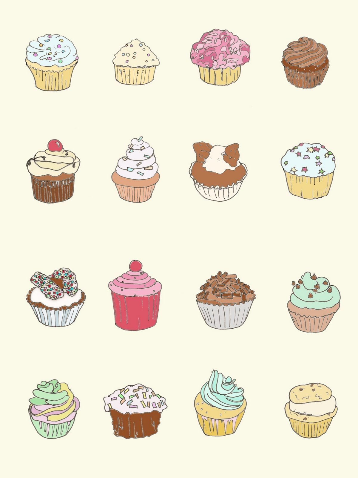 Uncategorized Drawing Of A Cupcake drawings of cupcakes google search illustration art search