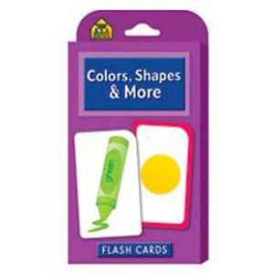 School Zone Publishing Colors Shapes & More Flash Cards