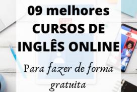 09 melhores CURSOS DE INGLÊS ONLINE e GRATUITOS.