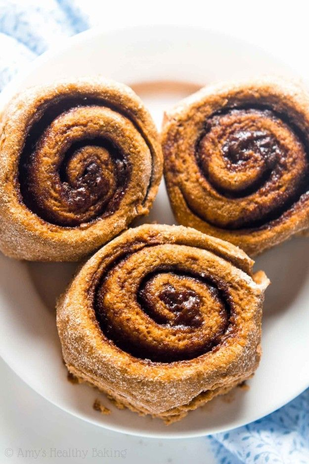 Pumpkin Cinnamon Rolls | Community Post: 10 Warm And Cozy Baked Treats To Eat This Fall