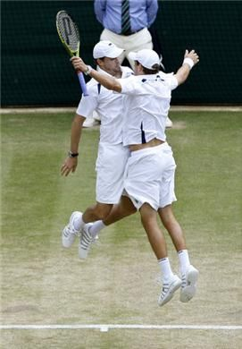 Doubles Tennis at its best! LOL
