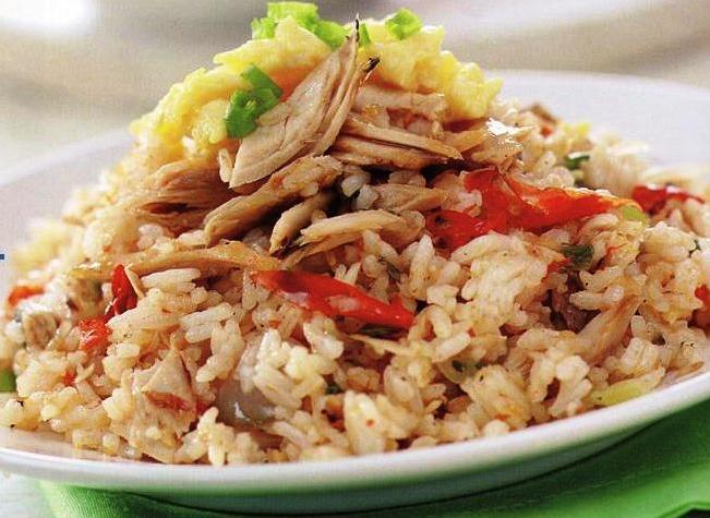 Resep Nasi Goreng Ikan Tuna Kaleng  Nasi goreng, Resep makanan