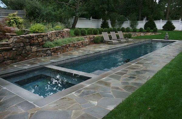 The Benefits Of Lap Pools And Their Distinctive Designs Swimming Pools Backyard Small Backyard Pools Backyard Pool