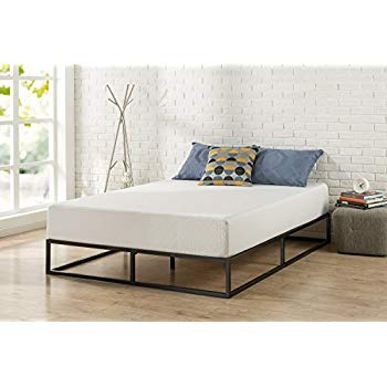 Amazon Com Zinus Joesph Modern Studio 10 Inch Platforma Low Profile Bed Frame Mattress Foundation Boxspring Optional Wood Slat Supp Bed Frame Platform Bed Frame Diy Bed Frame