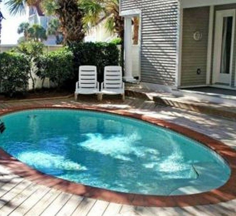 Small Backyard Ideas With Above Ground Pool