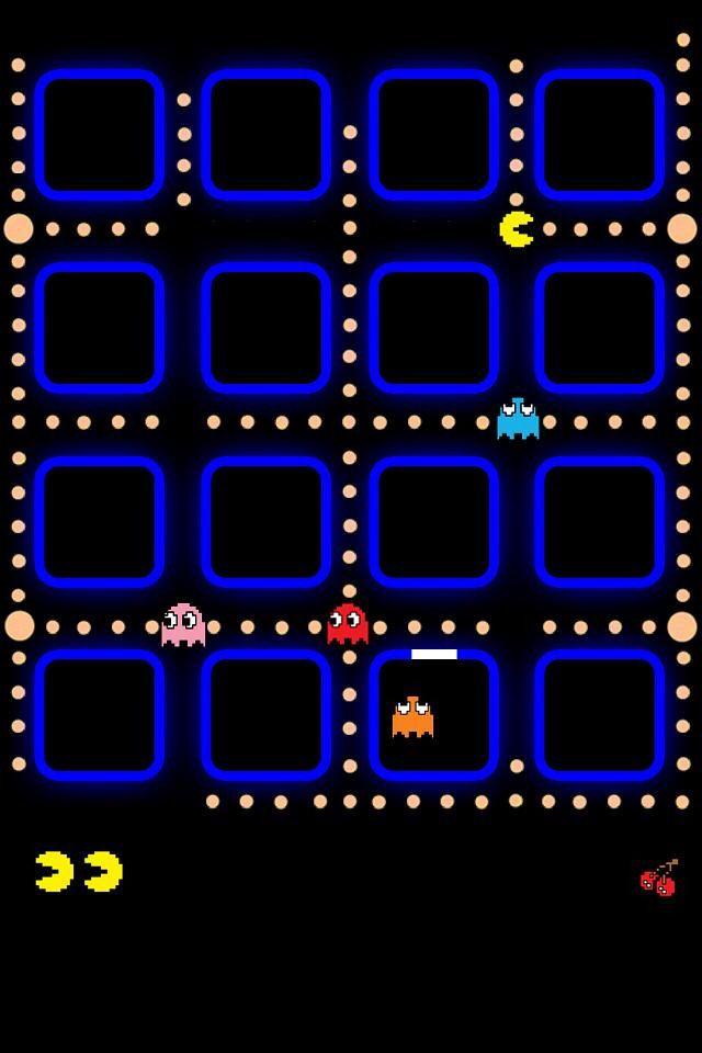 Pacman Iphone Wallpaper Ipod Wallpaper Pacman Iphone Wallpaper