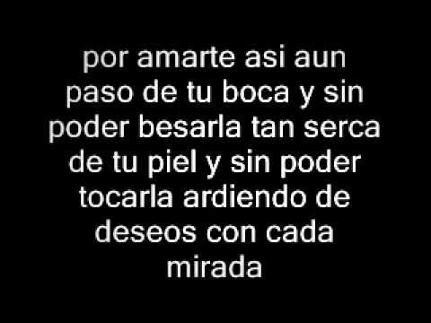 Por Amarte Asi Cristian Castro Lyrics Por Amarte Asi Amarte Es