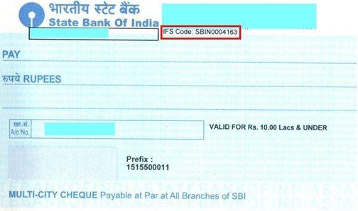 Cheque Image Coding Prefixes Bank Branch