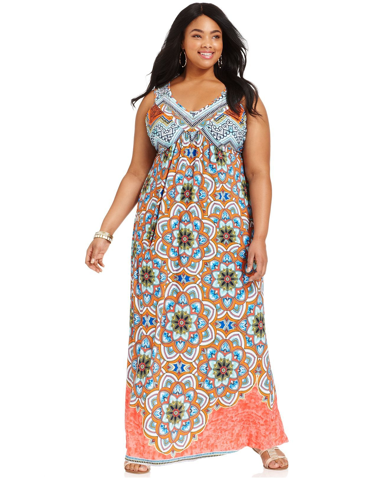 One World Plus Size Dress | Plus size maxi dresses, Fashion ...