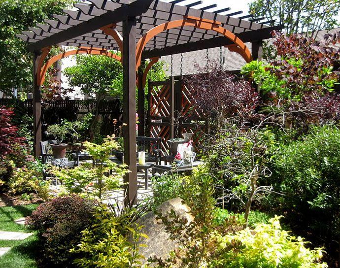 Marvelous Garden Design, Beautiful Garden Pergola With So Many Variety Of Plants:  Pergola Design Ideas And Tips
