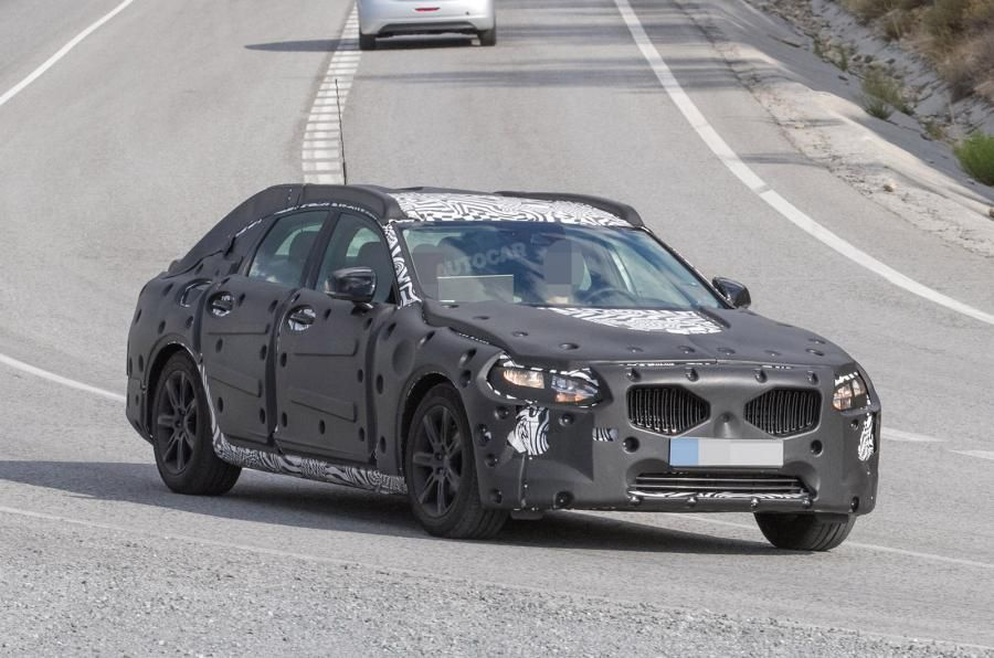 2016 Volvo S90 - latest spy pictures | Autocar