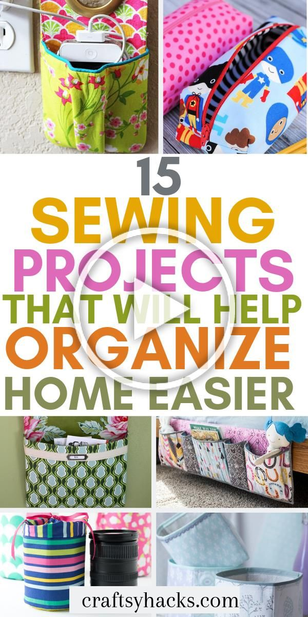 Try these diy sewing projects at home and organize home using these crafts These quick sewing projects are beginner and intermediate level friendly