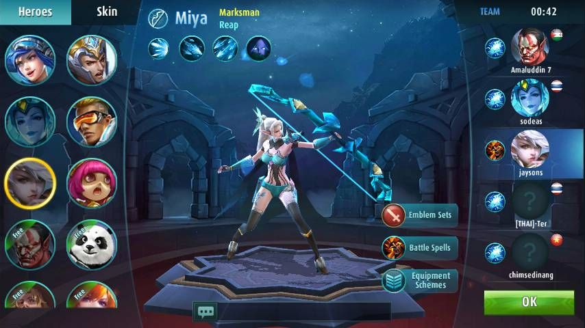 Mobile Legends 5v5 Moba Mod Apk 900000 Free Cash No Survey