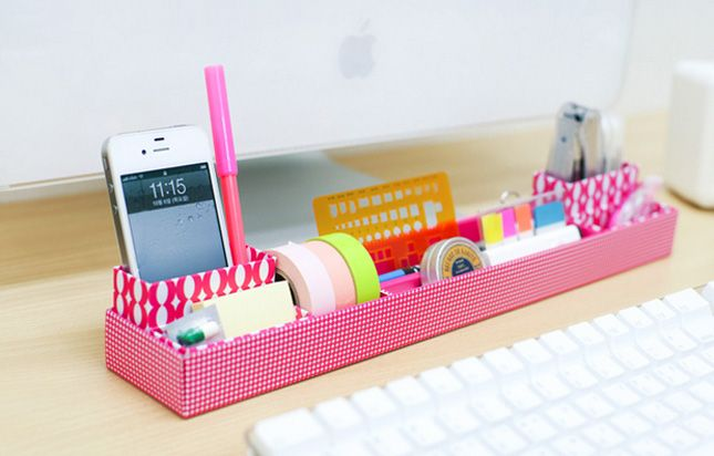 file pink office easypag organizer tier tray holder p school s desk mesh