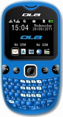 OLA Products OLA POP+ (Blue) Quad-Band Unlocked Mini Qwerty Keypad Phone, Camera, Bluetooth. - For Sale