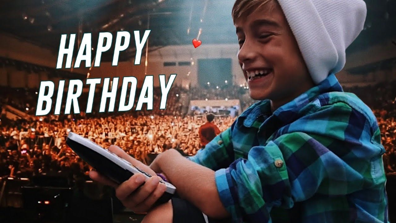 Happy Birthday Johnny Orlando He Made It With Images