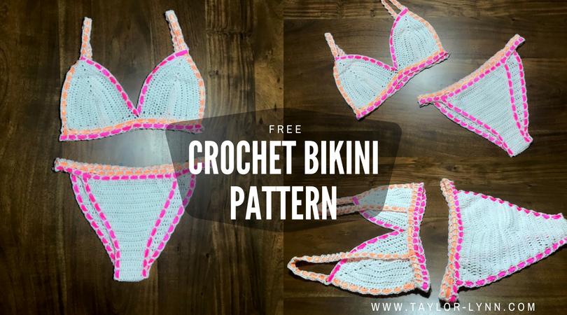 Free Vibrant Crochet Bikini Top Pattern | Crochet bathing suits ...