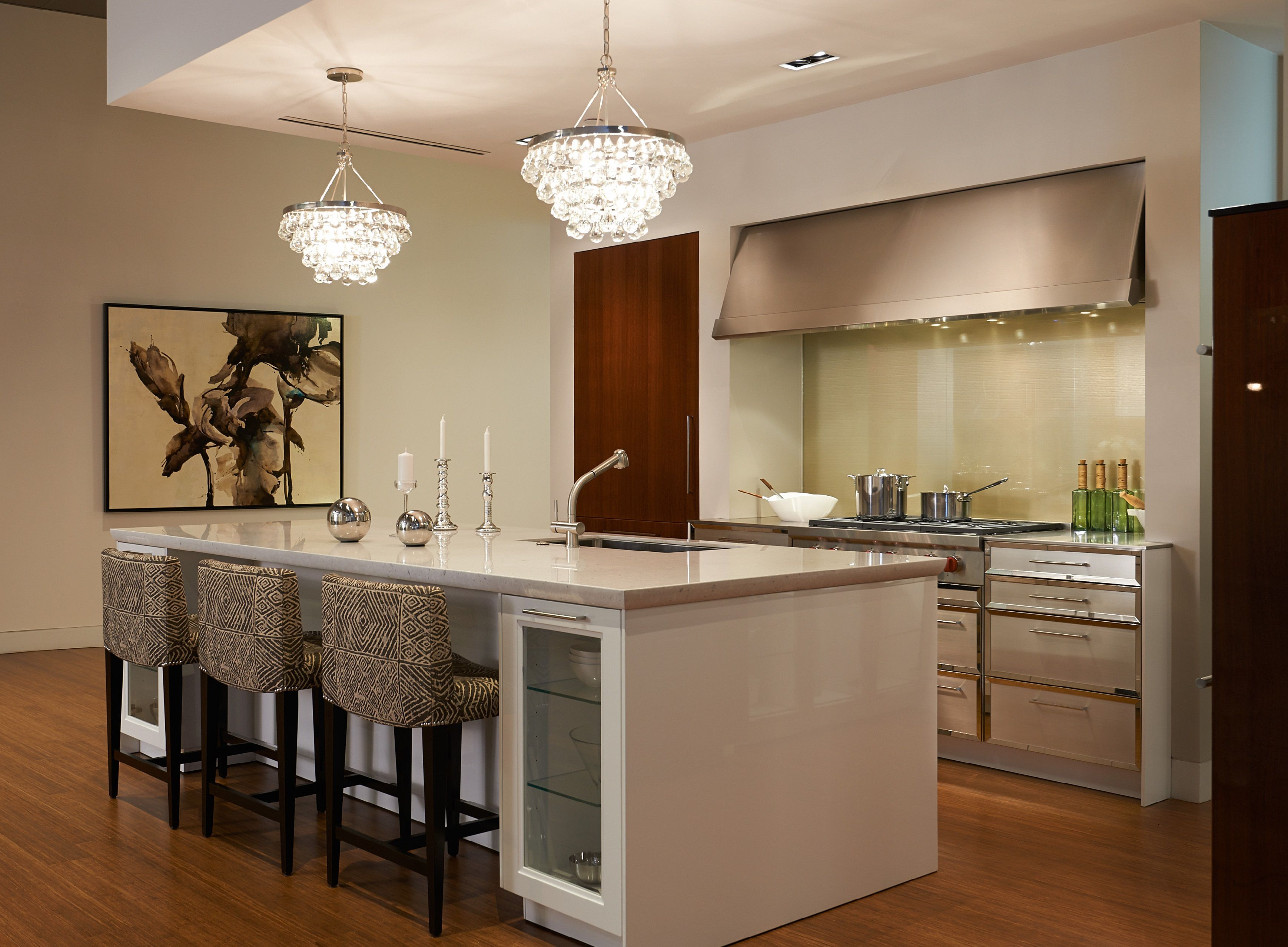 Kitchen Display Contemporary Kitchen Display At The Fretz Corporation Showroom