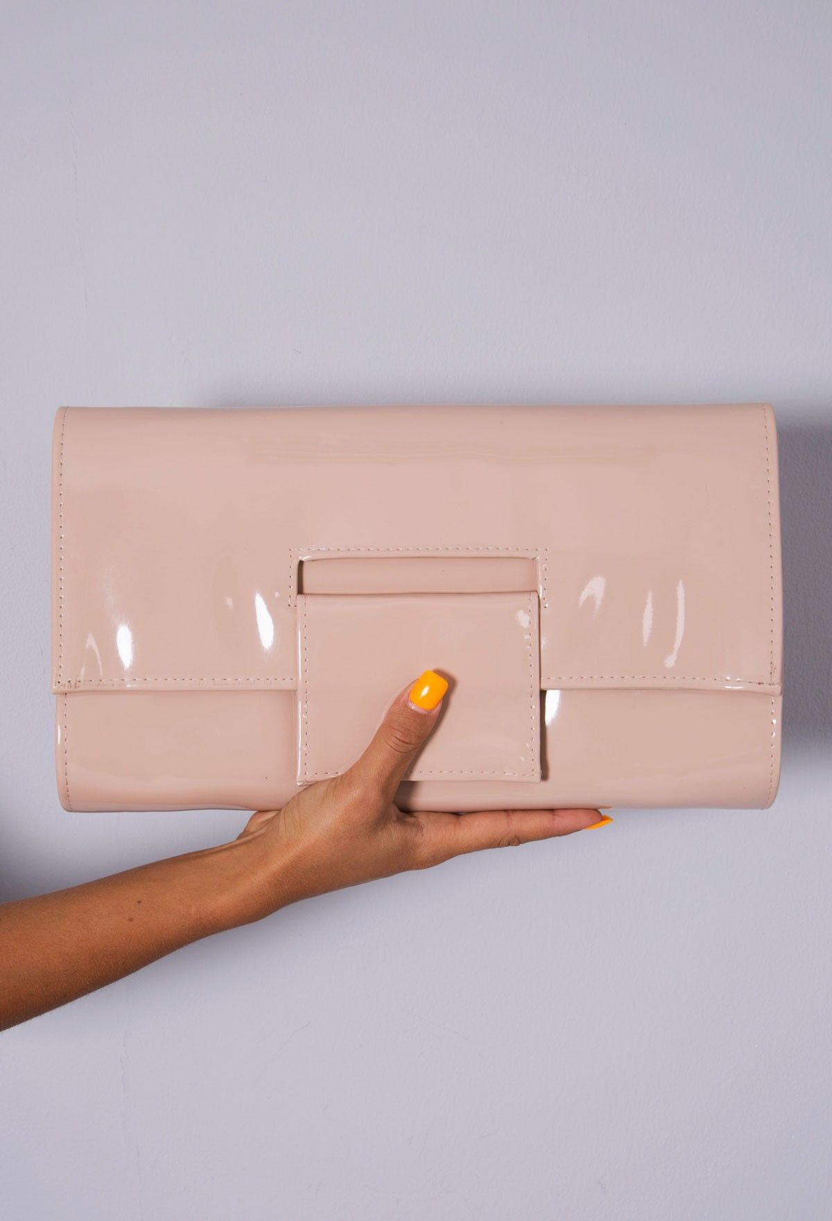 Pink Boutique Roraima Patent Clutch Bag Pinkboutique Co Uk New In Html