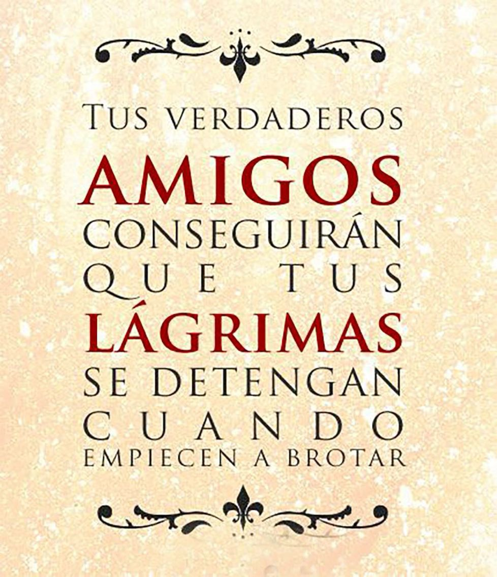 Quotes In Spanish About Friendship Frases  Frases  Pinterest  Thoughts