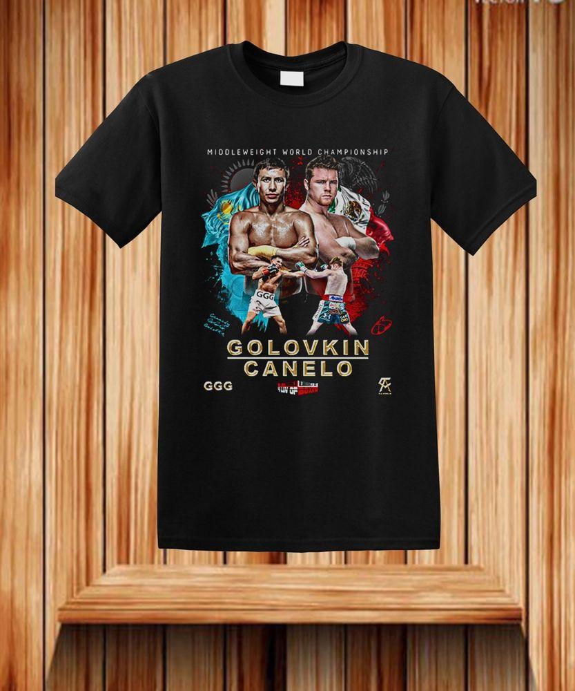 2ff64c1ee6c2 Boxing Shirts for sales - Boxing tshirt ideas  boxingshirts  boxingtee   boxingtshirt Canelo vs Golovkin Boxing T-Shirt BOXING Alvarez Short Sleeve  Size ...