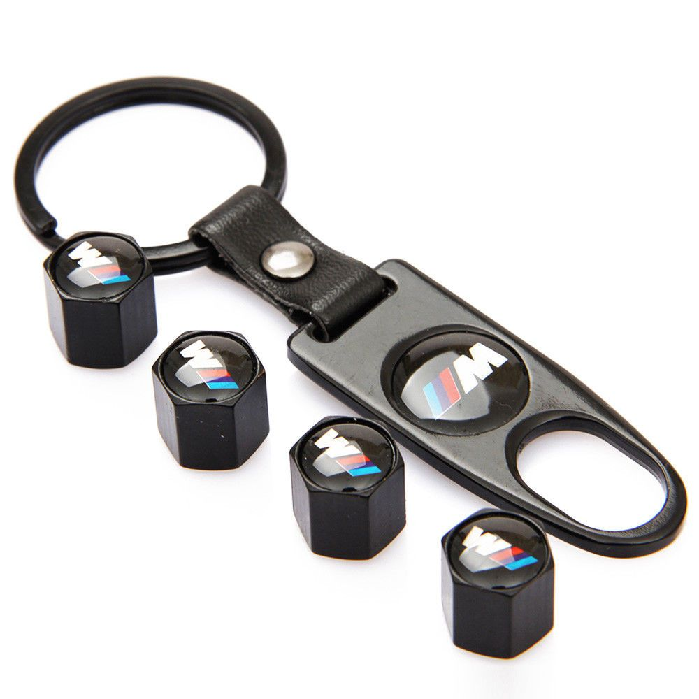 4x Car Logo Wheel Tire Valve Stems Caps Air Valve Cover Accessories For SEAT