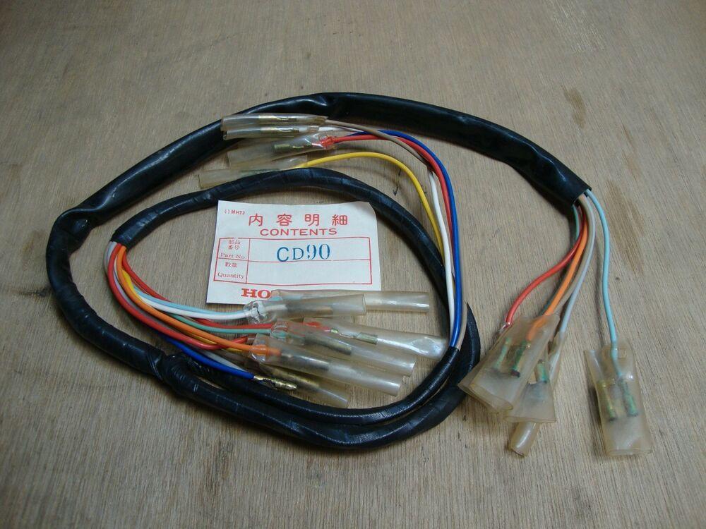 honda s90 wiring harness pin on klasikku ebay store  pin on klasikku ebay store