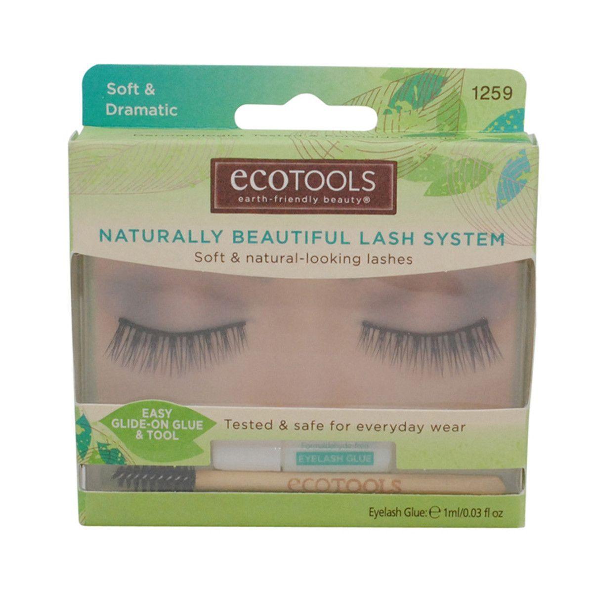 Ecotools Naturally Beautiful Lash System Soft & Natural-Looking Lashes #1259 Soft & Dramatic