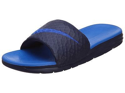 aefb4eb45f132 Nike Benassi Solarsoft Slide 2 Mens 705474-440 Navy Blue Sandals Slides  Size 9