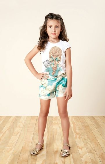b2535d630e95c2 Conjunto infantil de verão Carinhoso   Conjunto Infantil   Moda ...