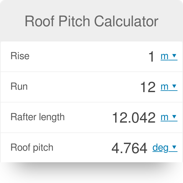 Roof Pitch Calculator Omni Calculate Roof Pitch Pitched Roof Skillion Roof