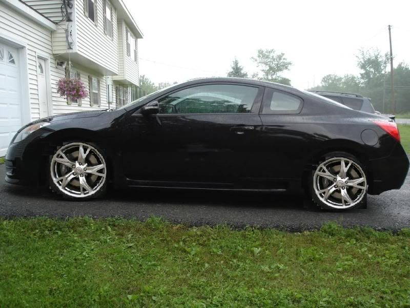 Nissan Altima Coupe With 370z Rims Find The Classic Rims