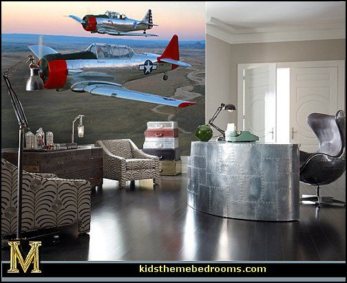 Superior Decorating Theme Bedrooms   Maries Manor: Airplane Theme Bedroom  Aviation  Themed Bedroom Ideas