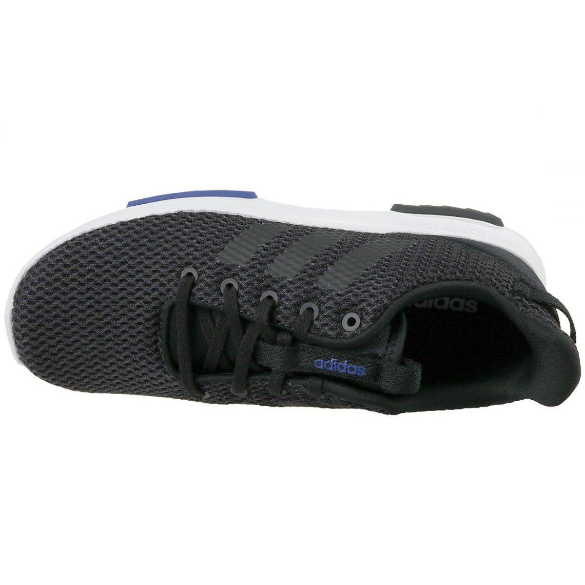 Adidas Cloudfoam Racer Tr K Jr Db1300 Shoes Black Sports Shoes Adidas Adidas Cloudfoam Black Shoes