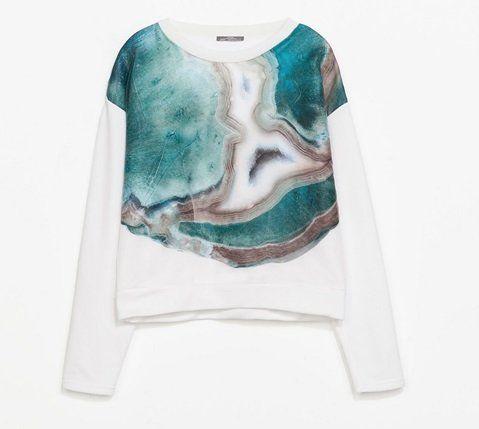 Arty Zara sweatshirt