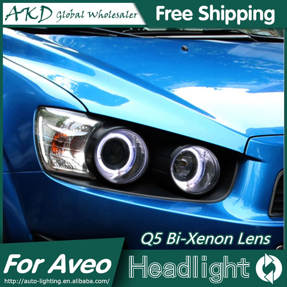 Akd Car Styling For Chevrolet Sonic Headlights 2011 2014 Aveo Led