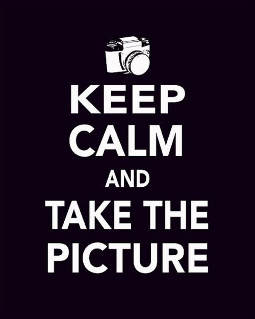 and take the picture