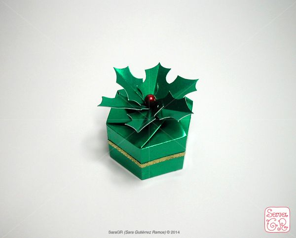 Holly Origami Box By Saragr Httpsaragrcreativewix