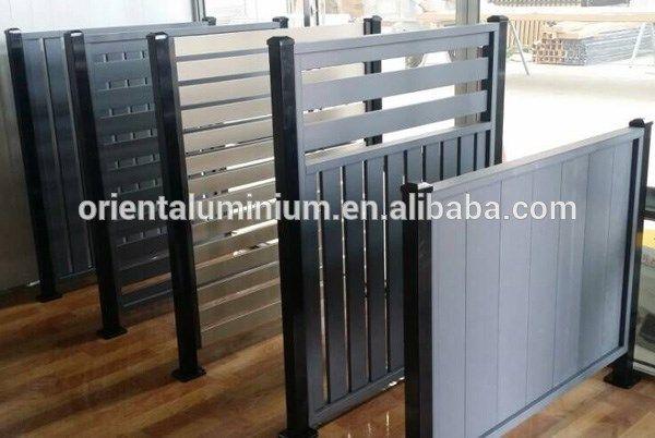Aluminum Modular Fence Panels Aluminum Fence Landscaping