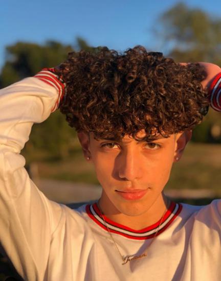 Cute Guys With Curly Hair Tiktok - HairStyle Arti - 241 ...   Tiktok Boys Hair Curly