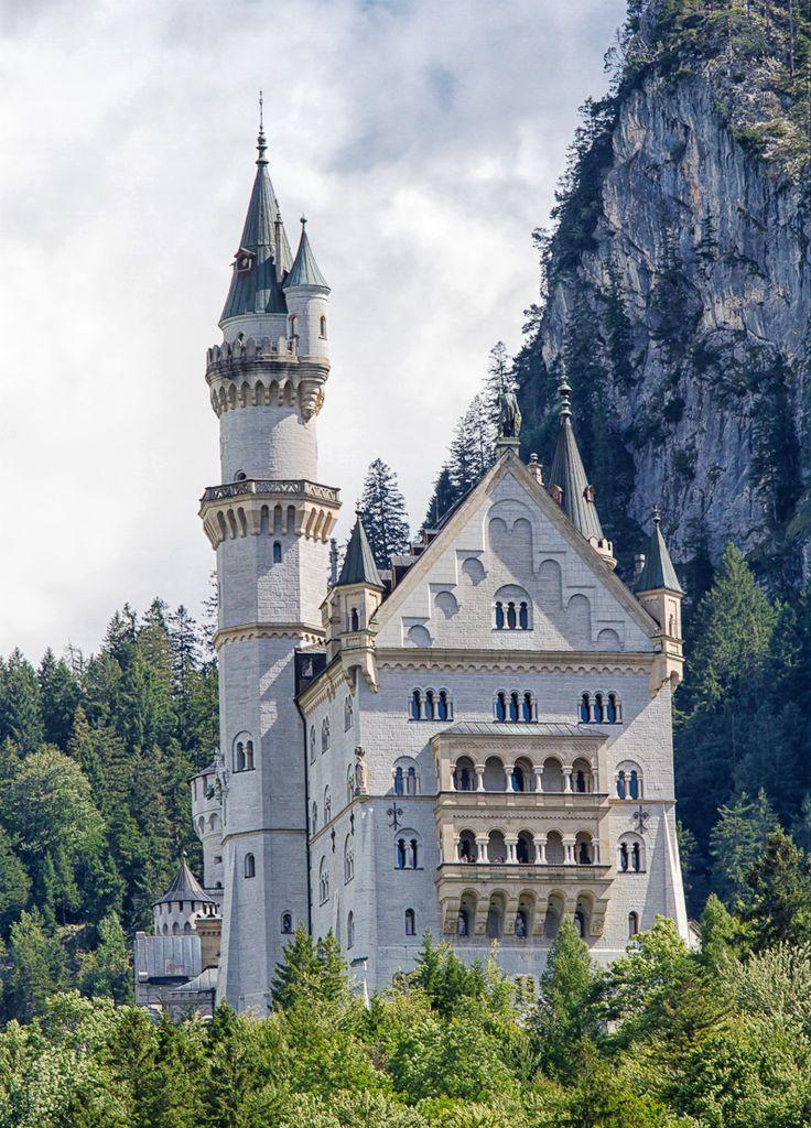Neuschwanstein Castle Germany Jigsaw Puzzle Neuschwanstein Castle Castle Germany Castles