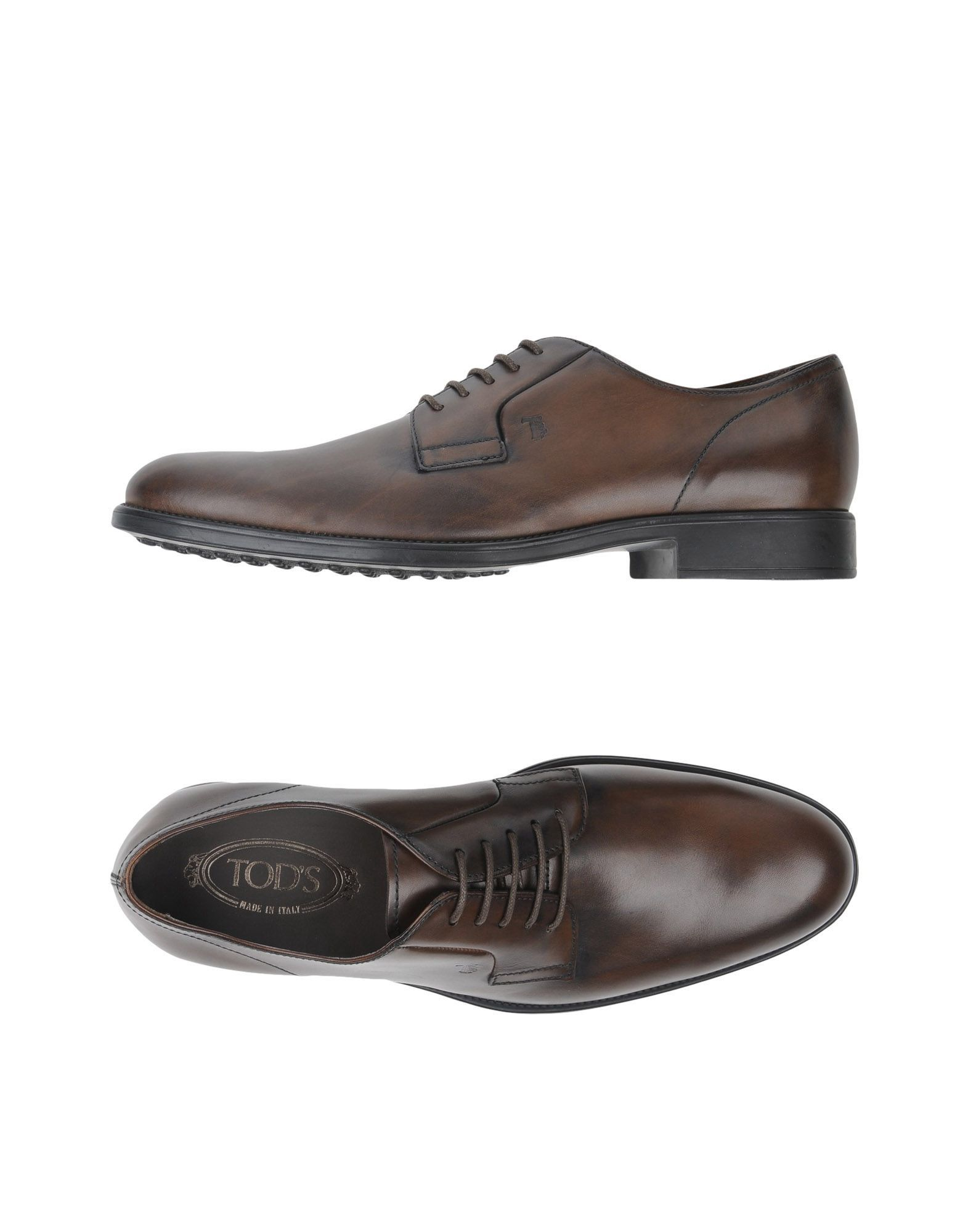 4b1cc469c3 TOD'S Lace-up shoe. #tods #shoes # Brown Brogues, Luxury Shoes