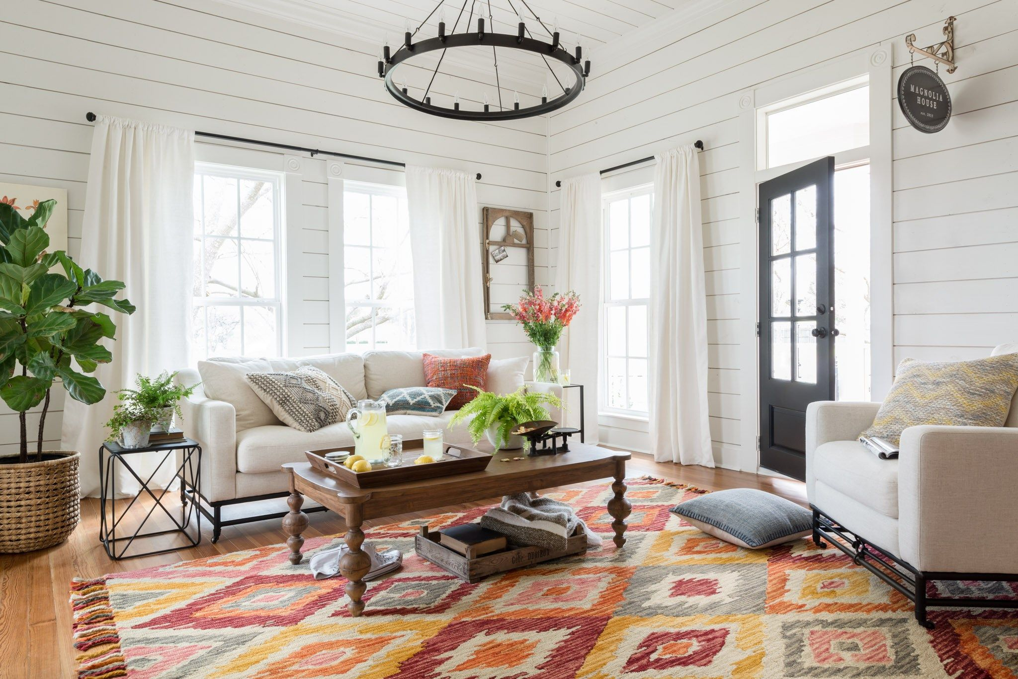 Magnolia home rugs by joanna gaines are now available at for Joanna gaines home designs