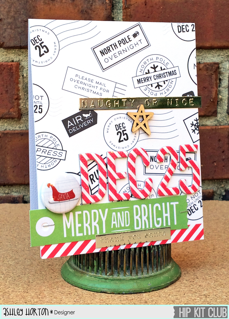Ashley Horton Designs: Hip Kit Club | Cookies for Santa