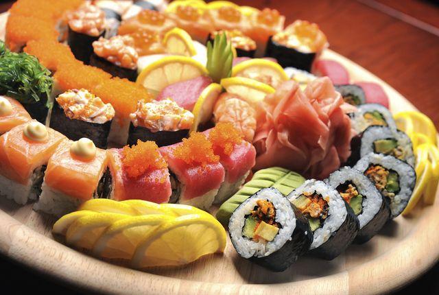 Las Formas De Presentar El Sushi Arroz Para Sushi Comida Y