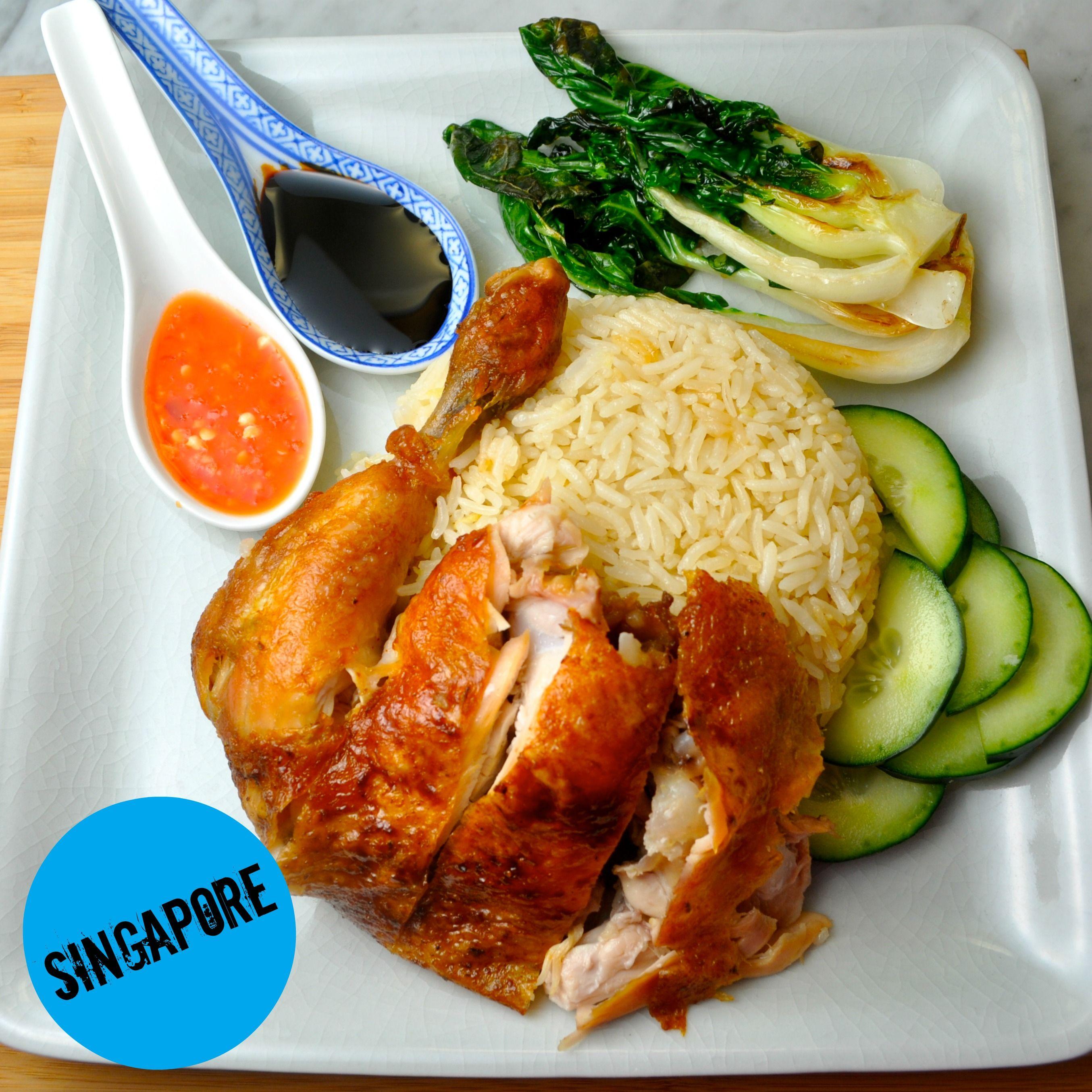 Rotisserie Chicken Magic Hainanese Chicken Rice  Chicken -7492