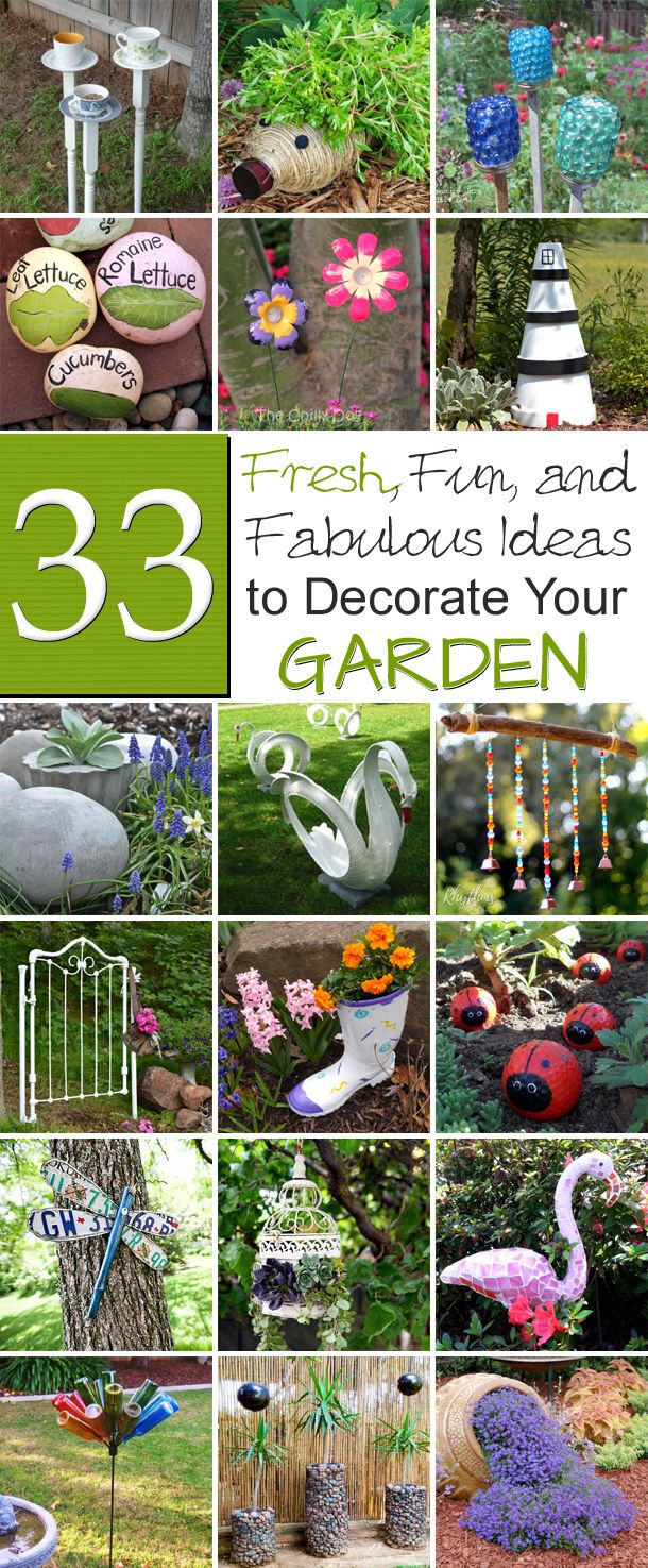 fresh fun and fabulous ideas to decorate your garden