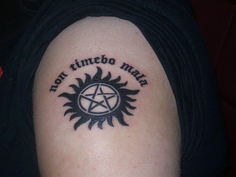 File Brittanyotatt Jpg Super Wiki Supernatural Tattoo Tattoos Anti Possession Tattoo