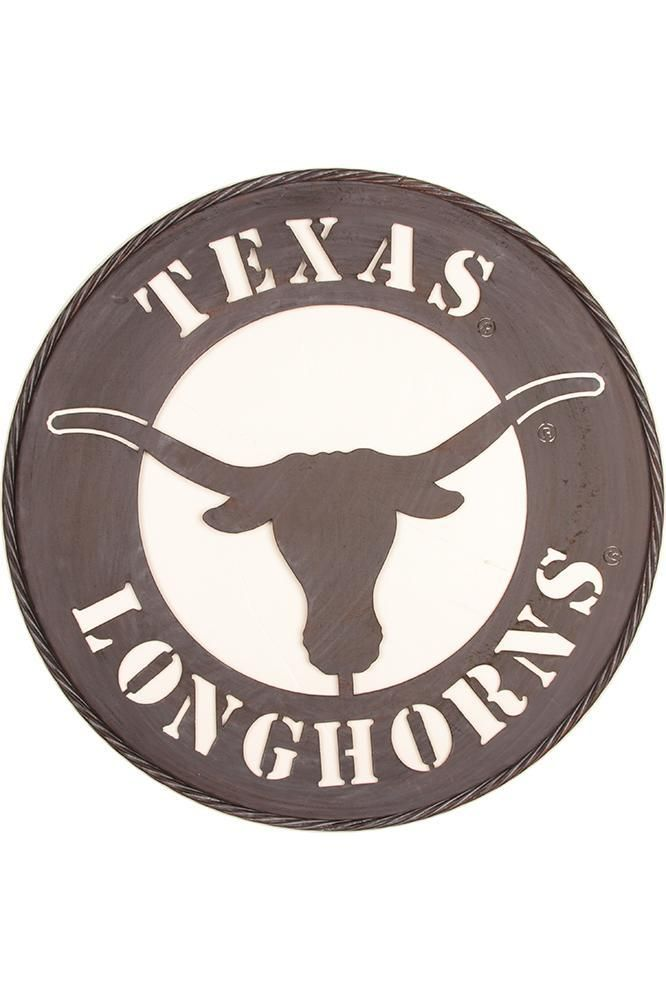 Texas Longhorn Metal Wall Art yard decor is a must have fo ...