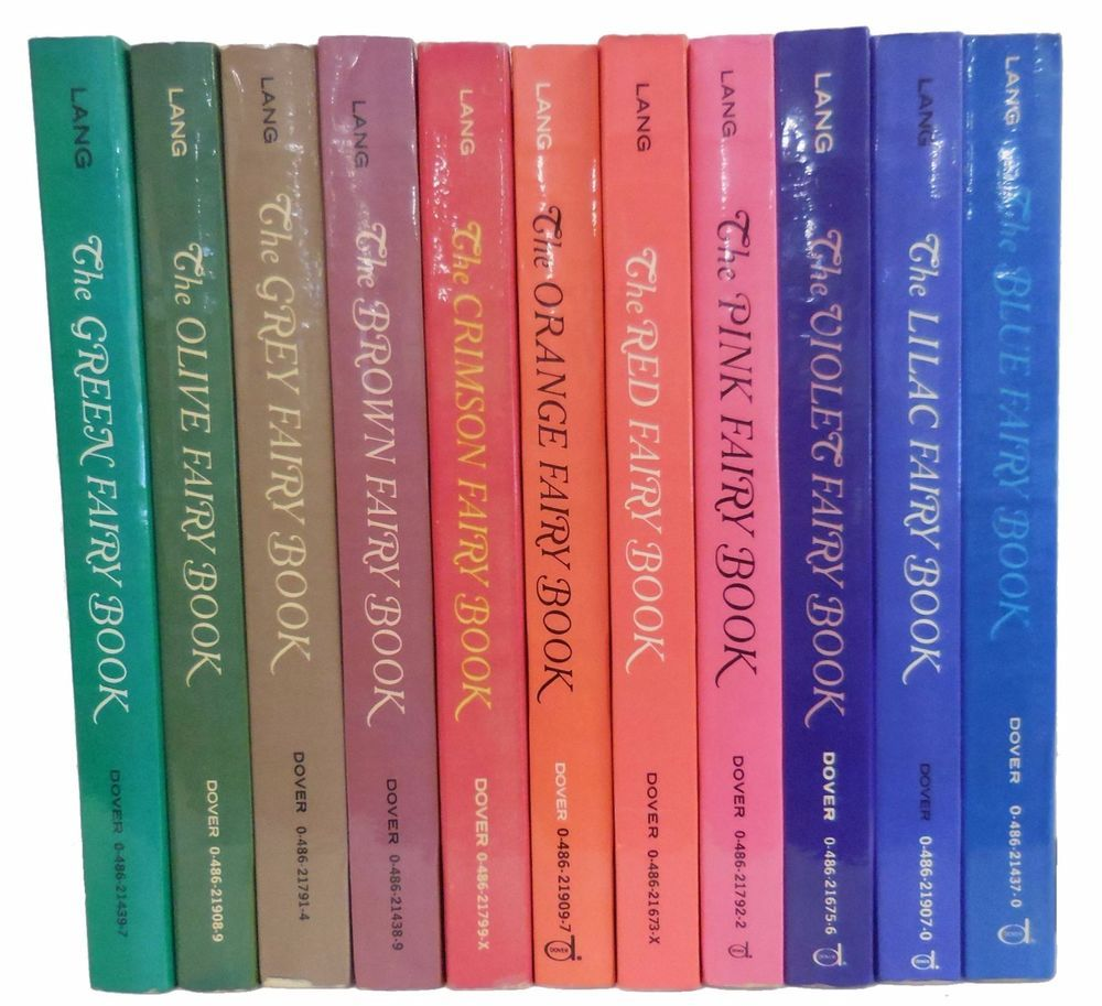 Andrew langs color fairy tales 11 books set dover